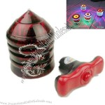 Child Colorful Lights Laser Spinning Top