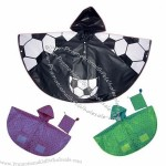 Child-size raincoat with pockets available in assorted colors