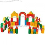 Children Puzzle Game Building Blocks
