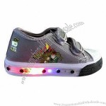 Children's Canvas Shoes with Light