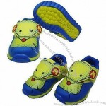 Children's Casual Sports Shoes, Made of TPR, Mesh and Multi-spandex