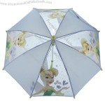 Children's Character Umbrella - Tinkerbell Clear Dome