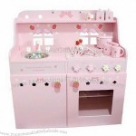 Children's doll house, made of MDF