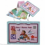 Children's Strategy Games, Language learning, Home and Farm Series, with Card, Game Board, Mark Pen