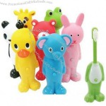 Children's Telescopic Toothbrush - Animal Design