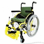 Children's Wheelchair with Aluminum Frame, Easy to Carry, Foldable