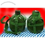 Chinese Original Army Style Water Flask Bottle Canteen 65 Type w Belt Ourdoor Sports Durable