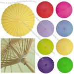Chinese Paper and Bamboo Parasol