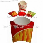 Chips Disposable Paper Boxes, Made of Food Safety Paperboard