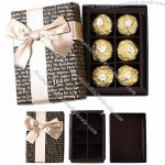 Chocolate Paper Box with PMS Color