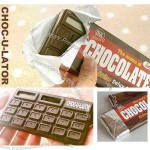chocolate shape waterproof and dustproof calculator