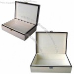 Chocolate Wooden Gift Box with Silk-sanded Surface