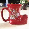 Christmas Shpe Shaped Ceramic Cup