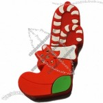 Christmas Stockings and Candy Cane USB Flash Drive