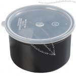 Classic Black Crock with Lid - 1.5 Qt