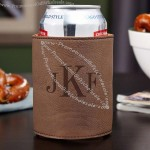 Classic Monogram Personalized Beer Can Koozie