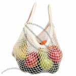 Classic String Bag Natural Cotton Tote