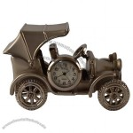 CLASSIC VINTAGE T CARRIAGE MINI CAR CLOCK