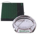 Clear Acrylic Golf Coaster/Putting Cup