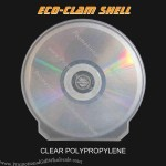 Clear CD-DVD Clam Shell,