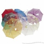 Clear Colour Umbrellas