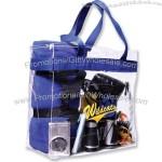 Clear Game Day Stadium Tote Bag