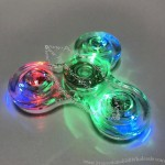 Clear LED Light Hand Fidget Spinner