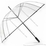 Clear PVC See Through Golf Umbrella