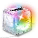 Clear Ultra Glow Ice Cube (Color Changing LED)