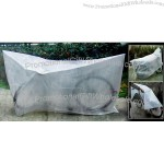 Clear White Indoor Bicycle Bike Storage Cover