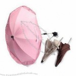 Clip-/Clamp-on Umbrella/Baby Stroller/Children's Parasol with Seven Strong Aluminum Wires