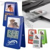 Clip-It LCD Picture Frame Stand-Up Clock