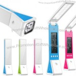 Clock Foldable Lamp with Flashlights