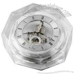 Clock with Octagonal crystal case
