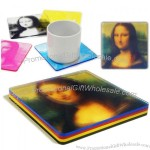 CMYK Color Printed Acrylic Coasters