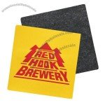Coaster w/ Black Woven Backing