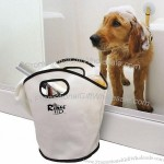 "Coated Canvas 10""W x 14""H Pet Bathing Caddy"