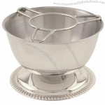 """Cocktail Service Bowl stainless 5"""""""