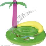 Coconut Palm Island Inflatable Coaster