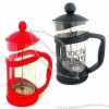 Coffee Plunger, Made of Glass + Plastic + Stainless Steel