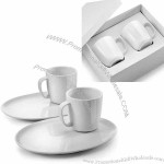 Coffee set in gift box