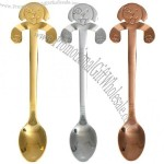 Coffee Spoon - Stainless Steel Dog Dessert Mixing Spoon