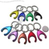 Coin Holder Keychain in Colorful Finishing