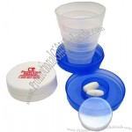 Collapsible Pill Box Cup