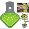 Collapsible Silicone Pasta Basket, Noodle Strainer