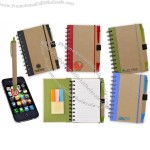 Color Edge Eco Journal/ Sticky Note/ Stylus Combo