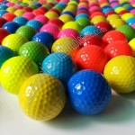 Color Gift Golf Balls