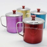 Color Stainless Steel Mug with Lid