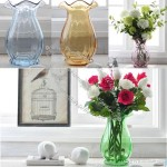 Color Transparent Glass Vase