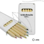 Colored wood pencil set
